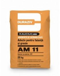Adeziv gresie si faianta pentru interior- Duraziv AM 11 - 25 kg