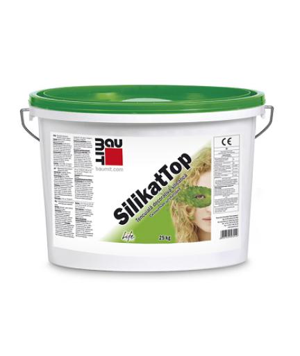 Tencuiala decorativa silicatica Baumit SilikatTop 25 kg
