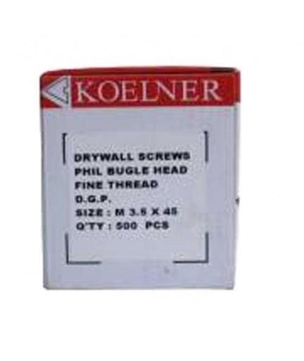 Suruburi autoforante Kolner pentru gips carton 3.5 x 45 mm