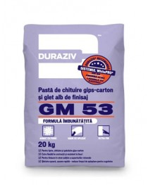 Duraziv GM 53 - Pasta imbinare sisteme gips carton