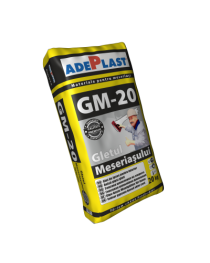 Gletul Meseriasului GM 20 - Glet de ipsos 20 KG Adeplast