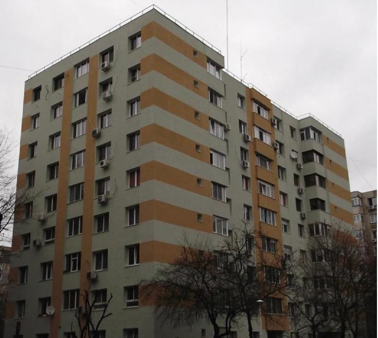 Proiect anvelopare bloc Str. Elev Stefanescu, Bucuresti, sector 2