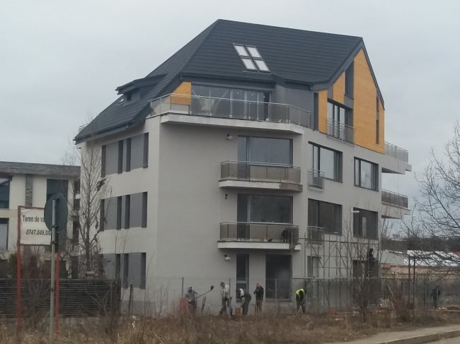 constructie P + 2 + Mansarda strada Regimentului