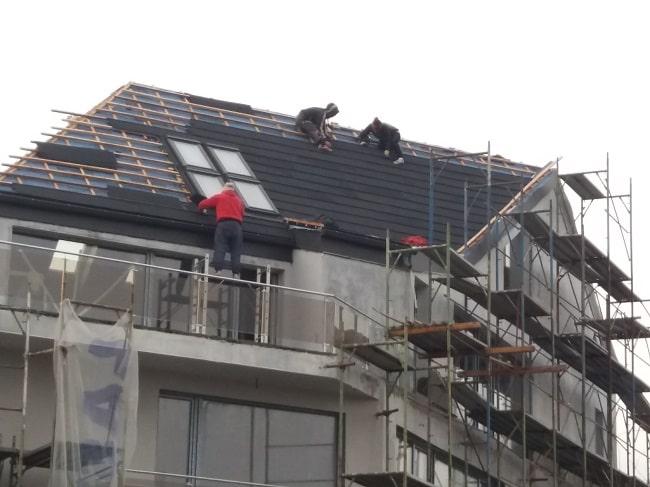 Operatiuni de finisare acoperis