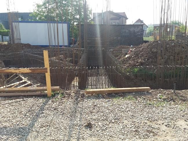 Pregatire fier beton structura fundatie