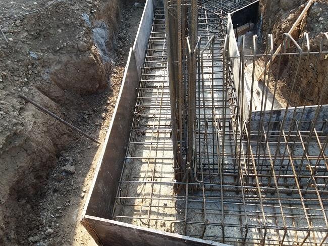 Realizare structura fier beton pentru fundatie